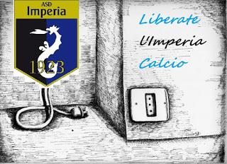 #staccatelaspina.Liberate l'Imperia calcio
