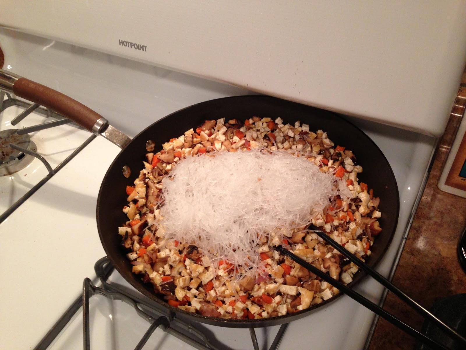 how to cook long kou bean threads