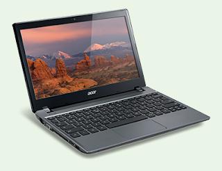 Laptop Acer C7 Chrome Book C 710 2055 Harga Spesifikasi dan Review