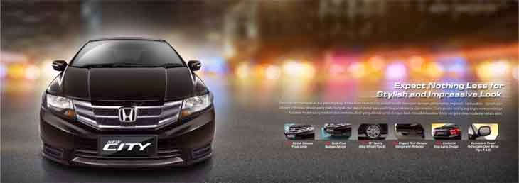 Eksterior New Honda City