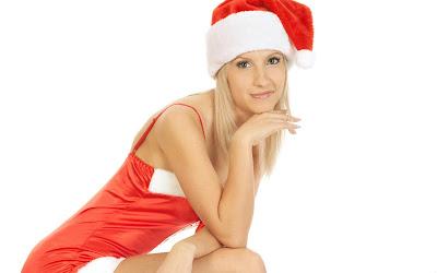 Merry Christmas Santa Girls Wallpapers hoty