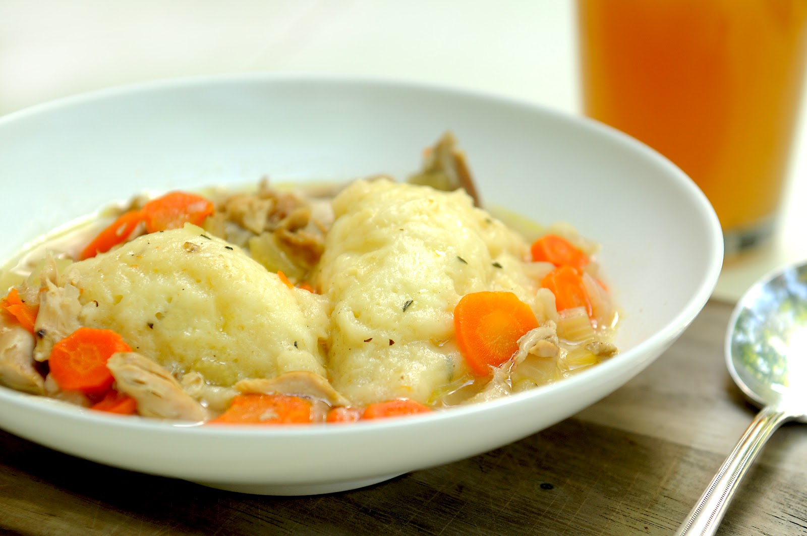Simply Gourmet: Chicken and Dumplings