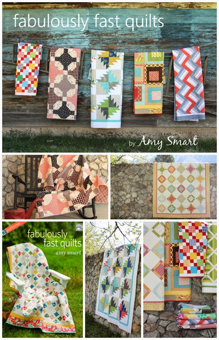 Fabulously Fast Quilts - a great new quilting book by Amy Smart