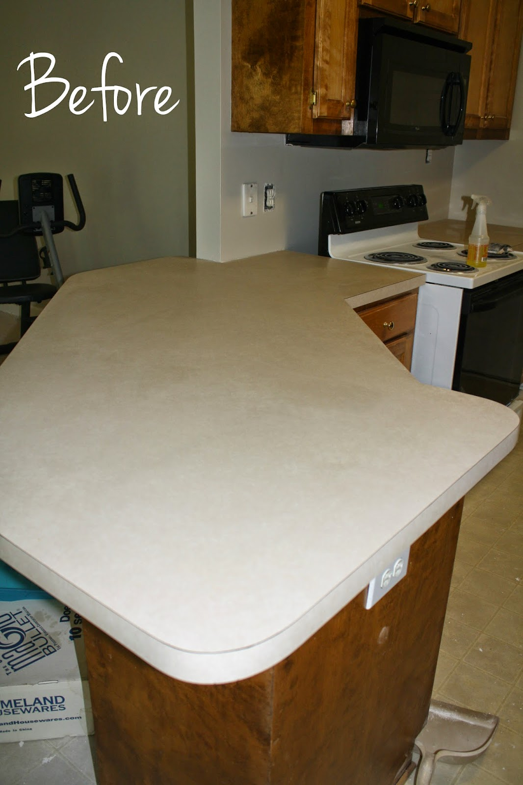 Faux Granite Countertops Cost : ... counters at 1 10th the price of real granite here s a before and after