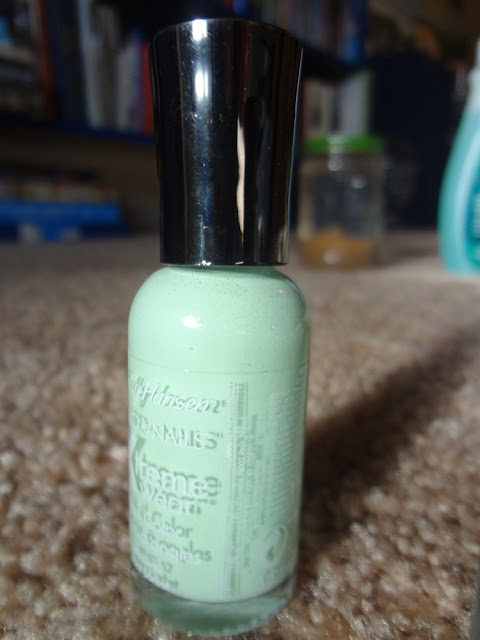 sally hansen mint sorbet, hard as nails