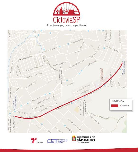 Ciclovia Cidade Tiradentes
