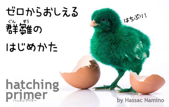 ゼロからおしえる群雛のはじめかた ─ hatching primer