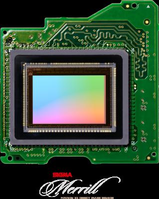 Fotografia del sensore Foveon X3
