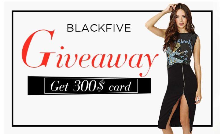BlackFive Giveaway
