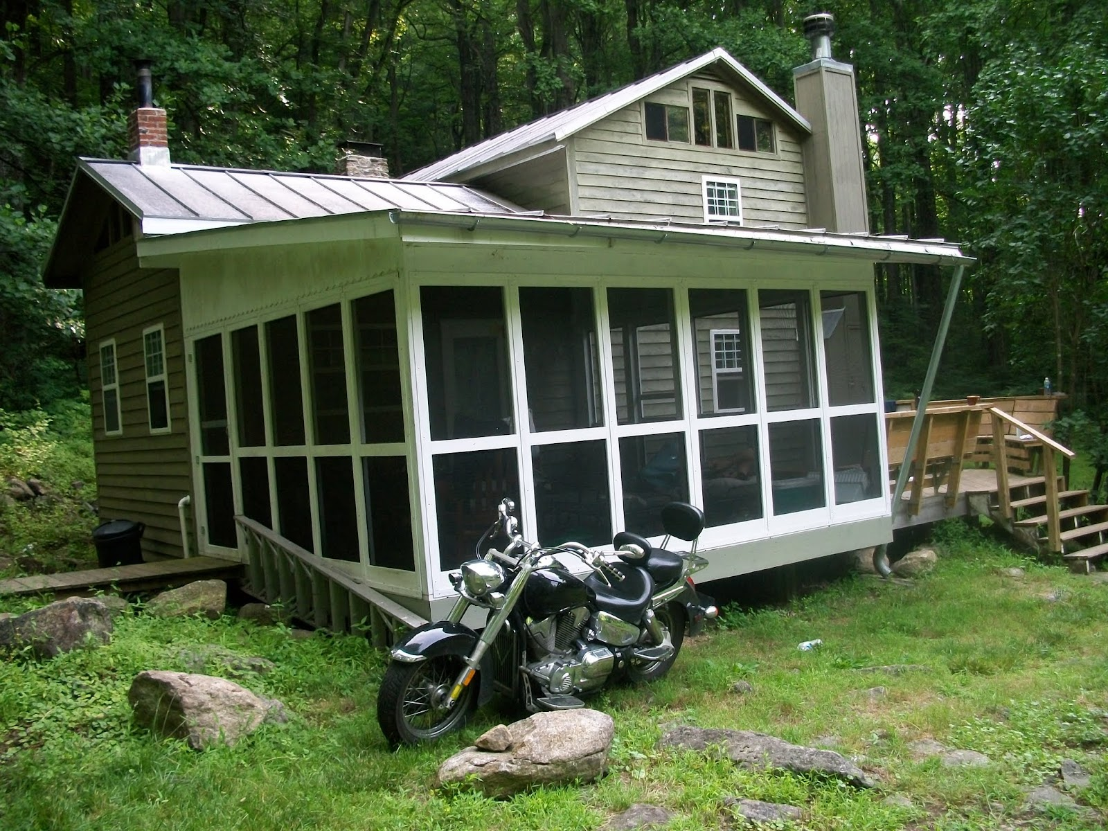 Glass House Patc Cabin : The adventures of lachabenn