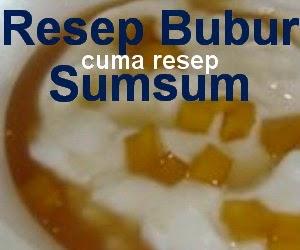 Resep Bubur Sumsum Spesial Enak