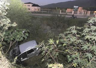 Marianela Mirra se accidentó en su auto