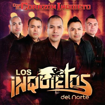 Los Inquietos Del Norte - Con El Corazon Inquieto CD Album 2013 hersonmusic.net