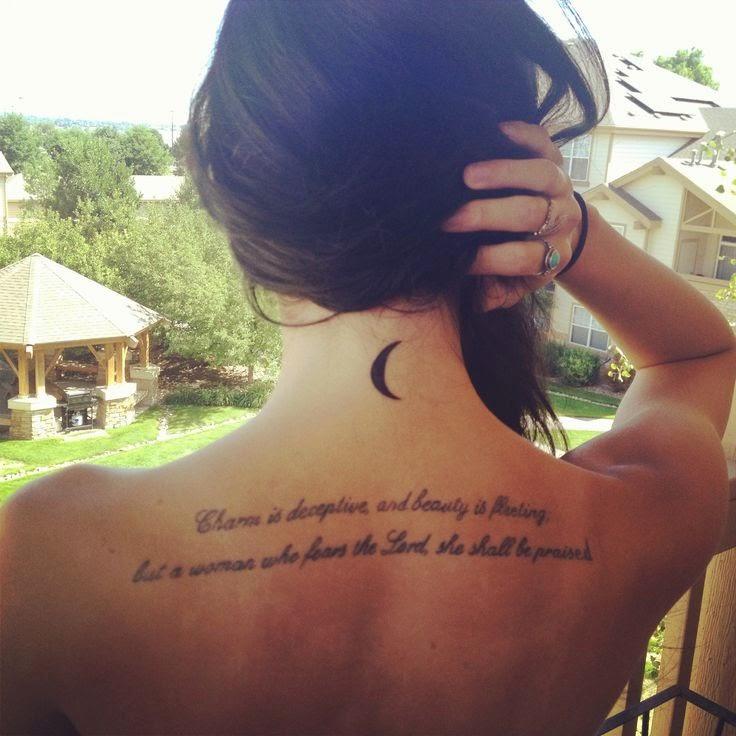 Tatuajes De Lunas Para Chicas , Significado Y Simbolismo