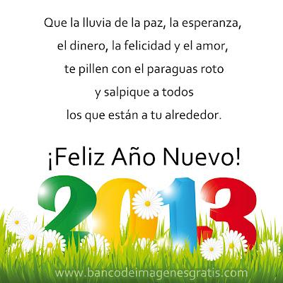 Mensajes de Año Nuevo para compartir 2013