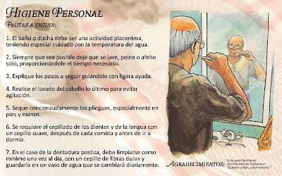 Familiares del Alzheimer: TIP 1: HIGIENE PERSONAL