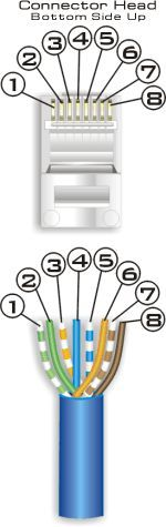 cat 6 ethernet wall jack wiring cat 6 ethernet cable wiring #15