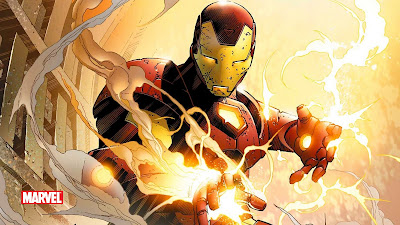 Marvel Iron Man Comic Wallpaper