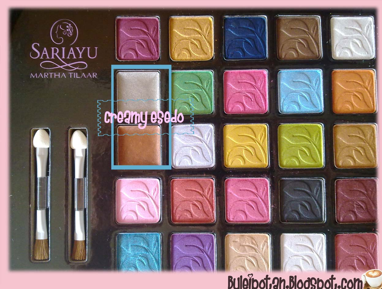 Product Review SARIAYU 25TH ANNIVERSARY PALETTE FOTD