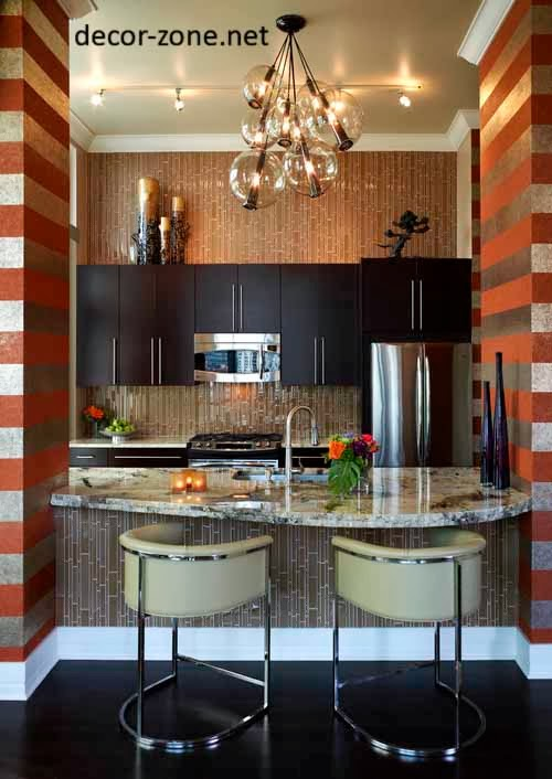 creative kitchen wallpaper ideas, designs, patterns