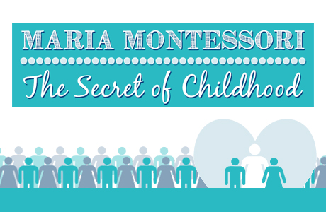 NAMC Montessori Secret of childhood infographic intro