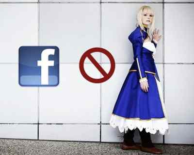 Facebook Menghapus Akun yang Menggunakan Kata Cosplay