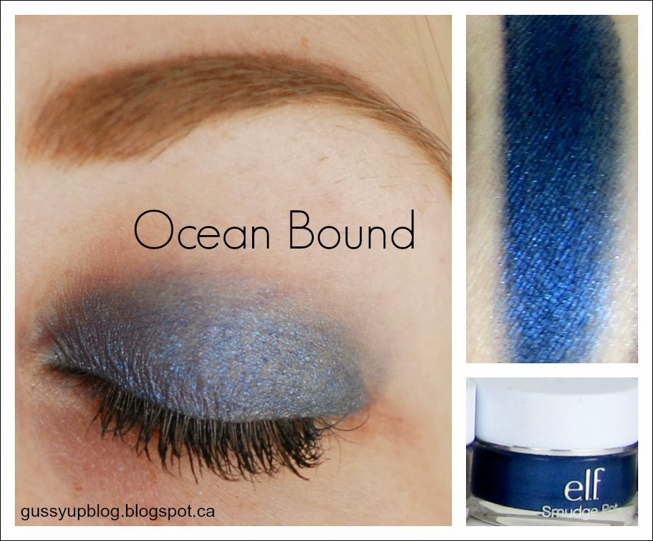 e.l.f. Essential Smudge Pots, Ocean Bound, Review and Swatches