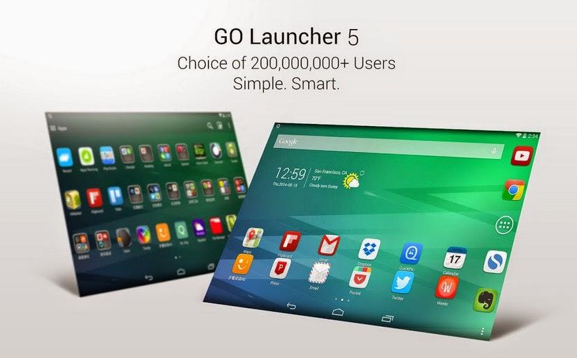 GO Launcher EX Prime 5.09 APK