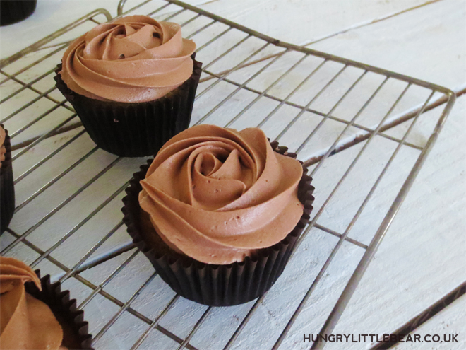 banana cupcakes with nutella frosting sallys baking addiction recipe
