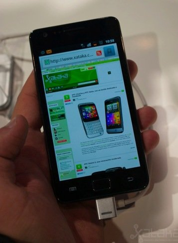 Samsung Galaxy S II Review pictures
