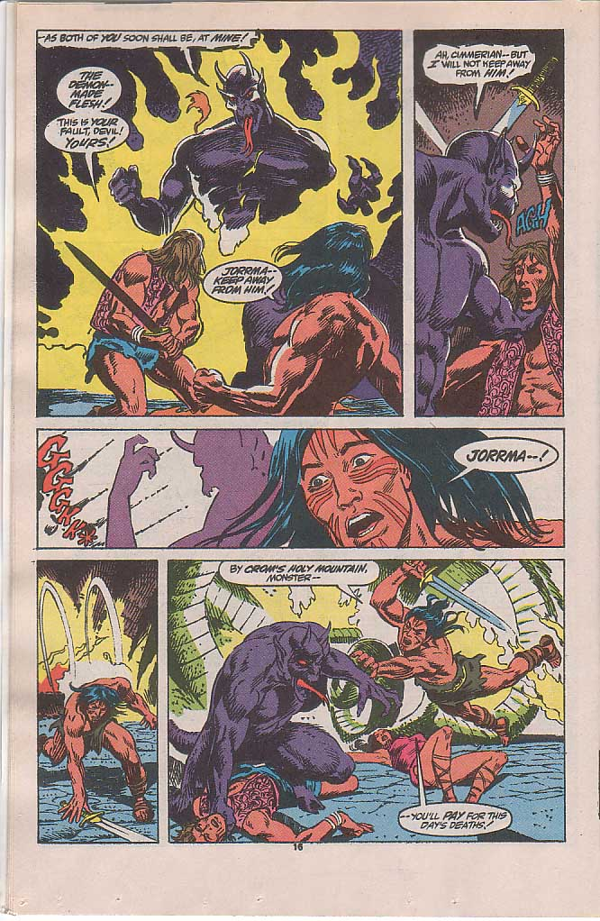 Conan the Barbarian (1970) Issue #240 #252 - English 13