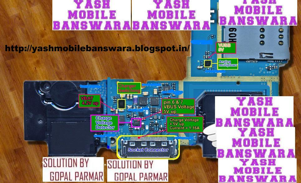 Samsung P1000 Galaxy Tab USB Not Charging Solution By Yash Mobile