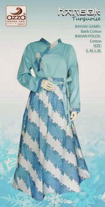 Gamis Hanbok Turquoise