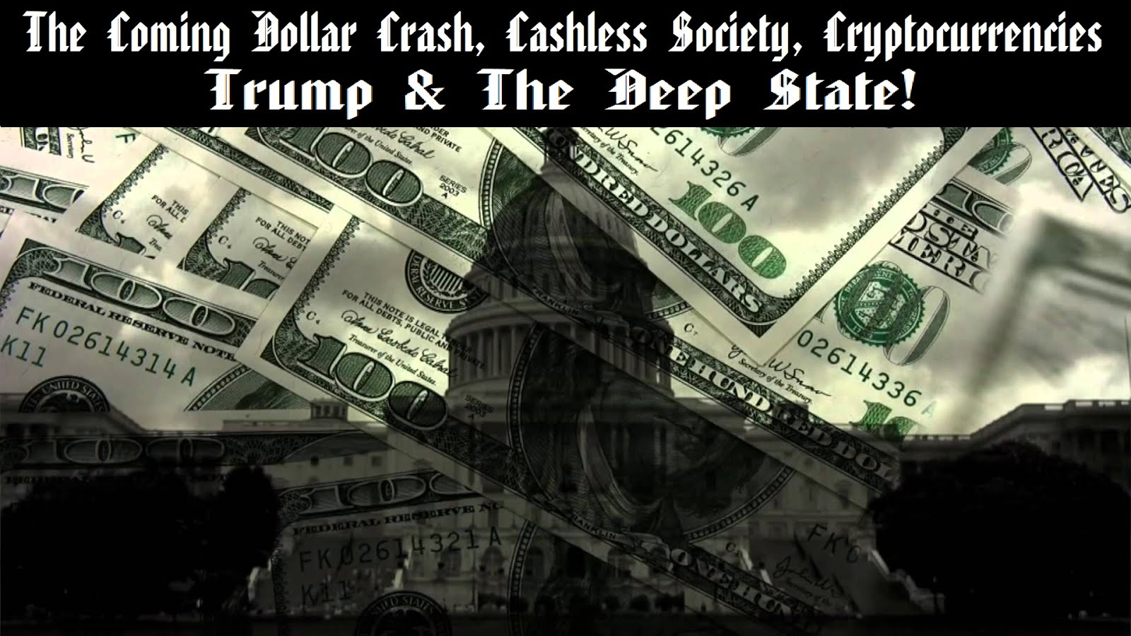 The crash of the dollar is not a matter of if…but when!