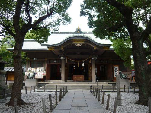 高津宮拝殿