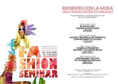 Se viene el Fashion Seminar de Grupo Imagen y #teampowertrio