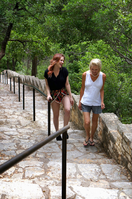 100 STEPS, MT. BONNELL, AUSTIN TEXAS