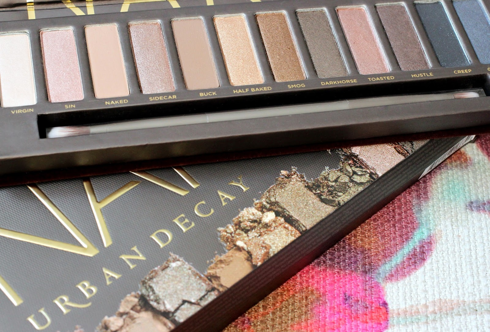 Urban Decay Naked Palette Gift Review