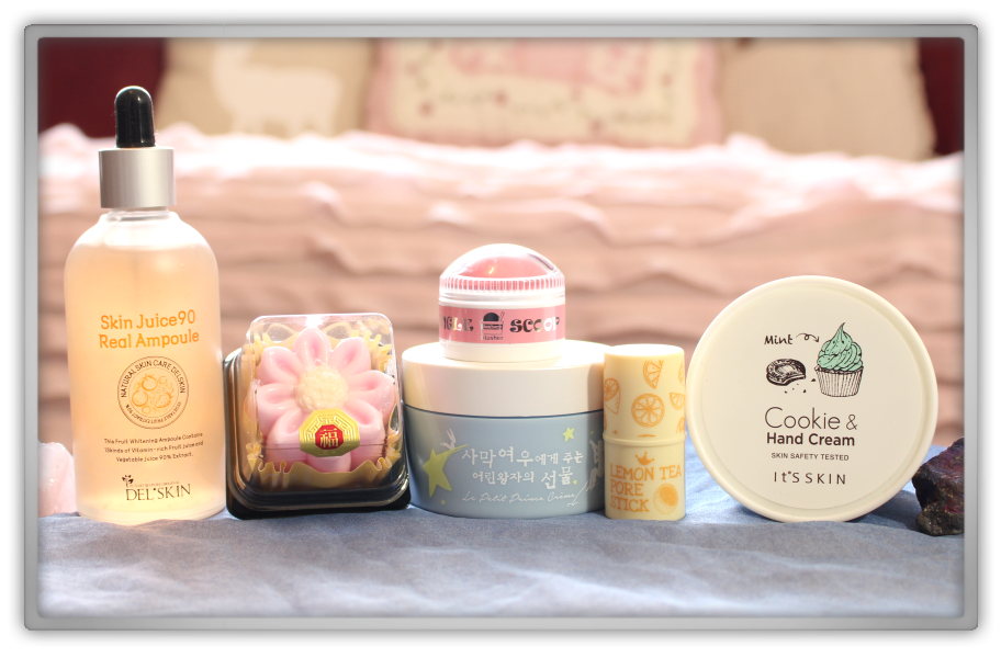 겟잇뷰티박스 by 미미박스 memebox beautybox Special #47 My Dessert Box unboxing review look inside