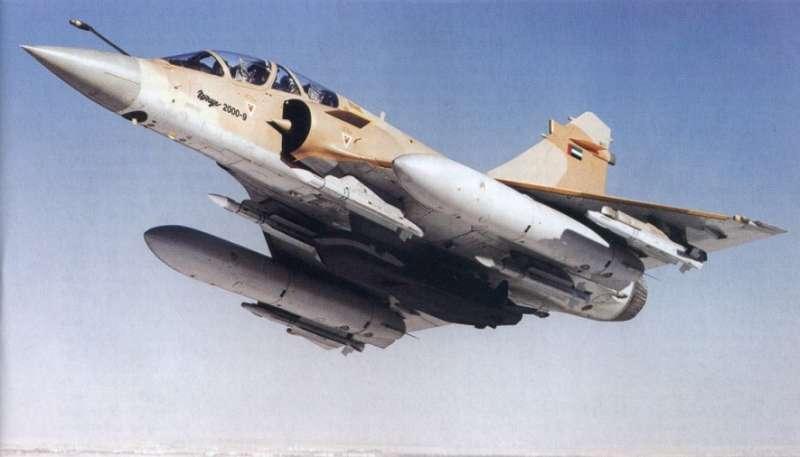 الصاروخ الأوروبي Scalp-EG UAE_Mirage_2000-9