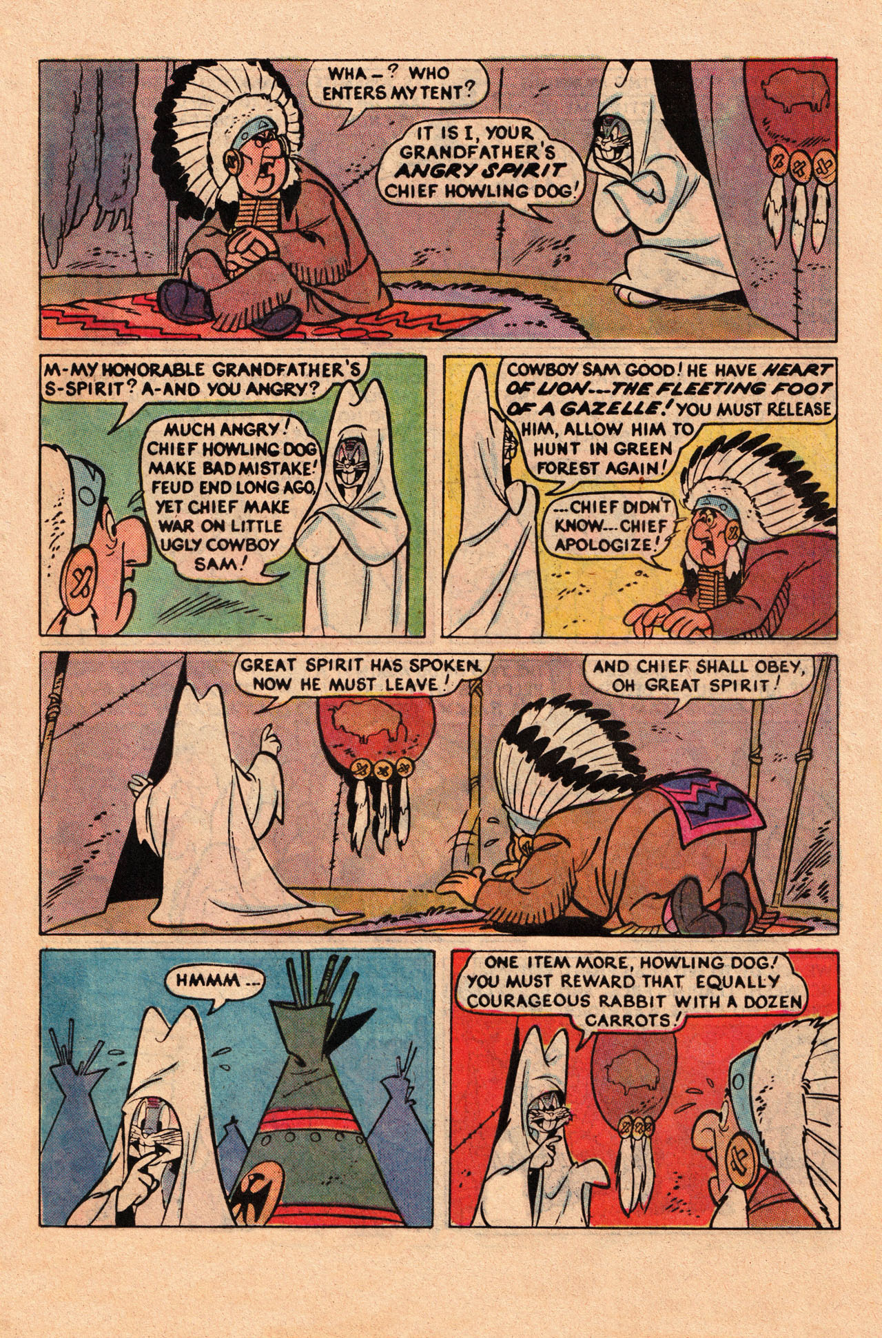 Yosemite Sam and Bugs Bunny chap 78 pic 13