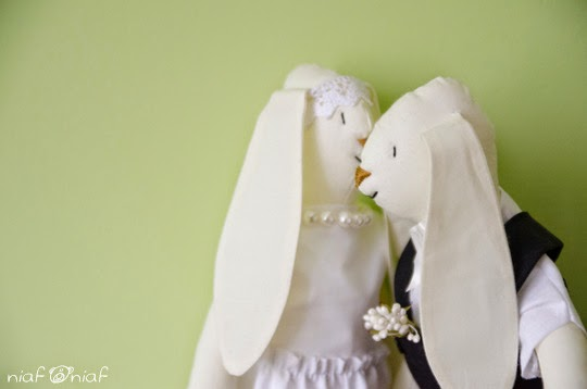Króliki ślubne 2