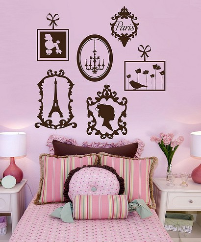 paris themed bedrooms for petite mademoiselles so pretty and
