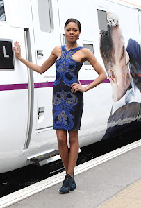 Exclusive Video of Naomie at Skyfall Train launch
