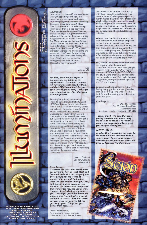 Read online Scion comic -  Issue #3 - 26