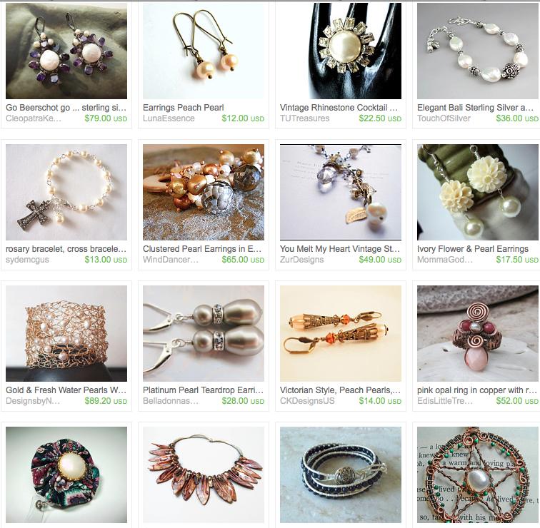 June Birthstone of Pearls