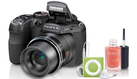 Jeu terrafemina: appareil photo + iPod + vernis Kiko