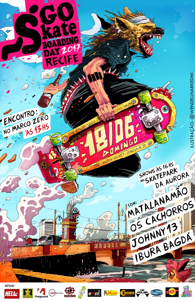 Go Skate Day Recife 2017