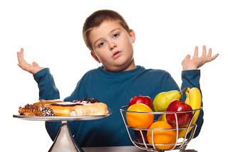 alimentacion sana para niños con sobrepeso