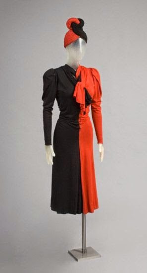 Early 1940s ensemble by John-Frederics, Inc., New York, 1928 - 1964